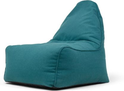 An Image of Ayra Bean Bag Chair, Mineral Blue