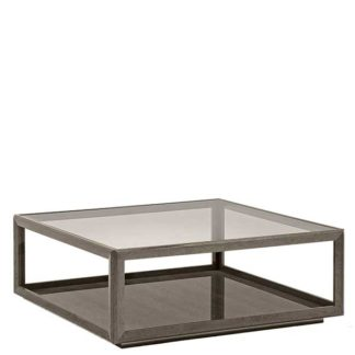 An Image of Tigbourne Square Coffee Table Silver Birch