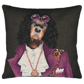 An Image of Spaniel With Glasses Cushion