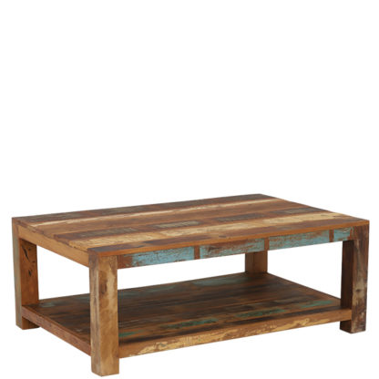 An Image of Little Tree Furniture Reclaimed Wood Mary Rose Coffee Table