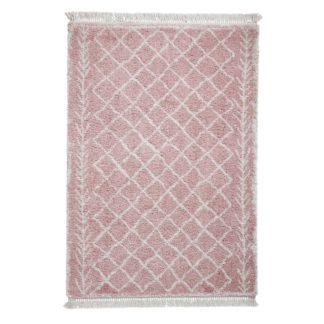 An Image of Boho 7043 Rug Rose (Pink)