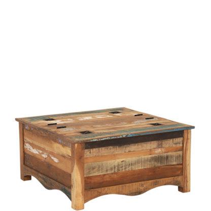 An Image of Little Tree Furniture Riya Reclaimed Wood Trunk Coffee Table