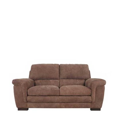 An Image of New Berisso Leather Loveseat