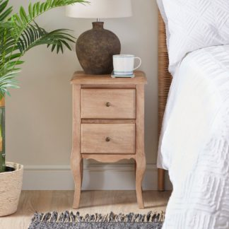 An Image of Giselle Bedside Table Wood (Brown)