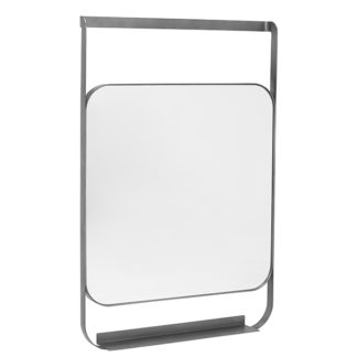 An Image of Morandi Hanging Mirror With Shelf