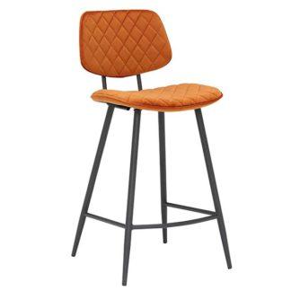 An Image of Archer Bar Stool Orange