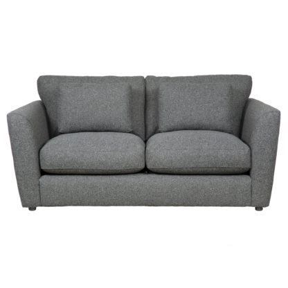 An Image of Esther Fleck Fabric 2 Seater Sofa Charcoal