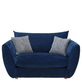 An Image of Big Blue Snuggle Chair