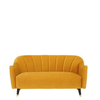 An Image of Lois 2 Seater Velvet Sofa