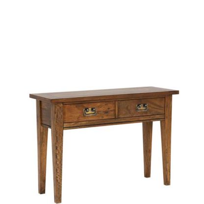 An Image of New Frontier Mango Wood Console Table