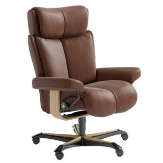 An Image of Stressless Magic Office Chair Choice of Leather