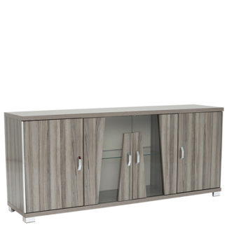 An Image of Viteri 4 Door Sideboard with LED Lights
