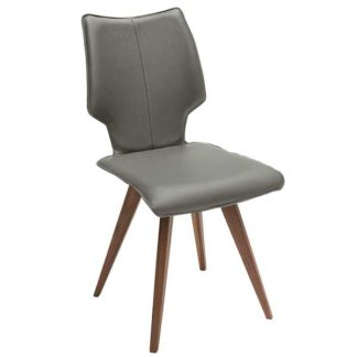 An Image of Tulip Dining Chair Toledo Leather