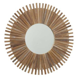 An Image of Bamboo Mirror Natural