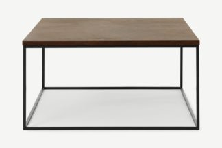 An Image of Deme Coffee Table, Rust Effect