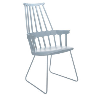 An Image of Kartell Comback Sled Armchair Choice of colours