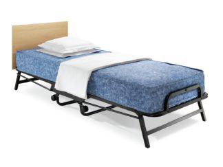 An Image of Jay-Be Crown Wind Waterproof Folding Bed Deep Mattress - Sgl