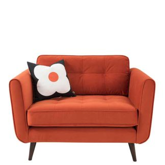 An Image of Orla Kiely Ivy Snuggle Chair