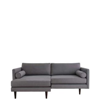 An Image of Orla Kiely Mimosa Large Chaise Sofa