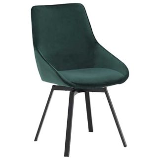 An Image of Beckton Dining Chair Green