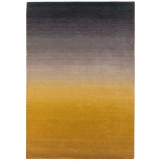 An Image of Ombre Rug Mustard