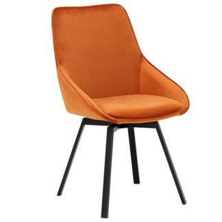 An Image of Beckton Dining Chair Orange