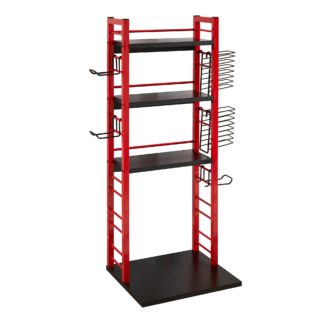 An Image of Virtuoso Gaming Tower Black and Red