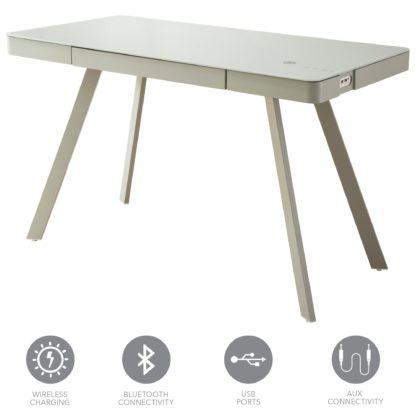 An Image of Silas Smart Desk Grey