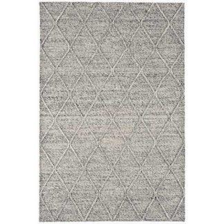 An Image of Coast Diamond Hand Woven Rug Grey Marl