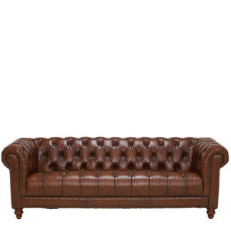 An Image of Ullswater 4 Seater Chesterfield Sofa