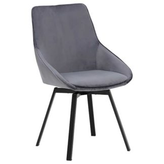An Image of Beckton Dining Chair Grey
