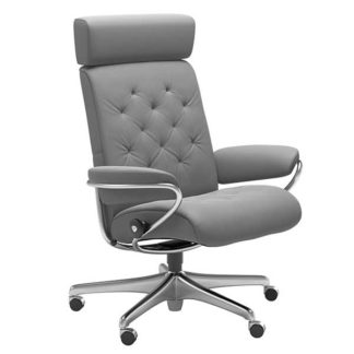 An Image of Stressless Metro Offfice Chair With Adjustable Headrest