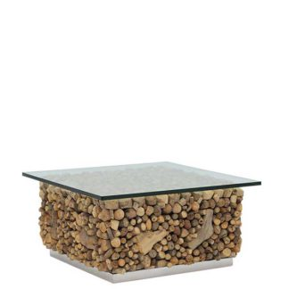 An Image of Caspian Solace Reclaimed Wood Coffee Table