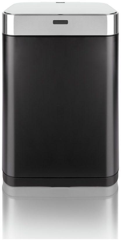 An Image of Tower 60 Litre Recycling Sensor Bin - Black