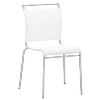 An Image of Benbow Stackable Net Fabric Dining Chair