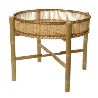 An Image of Bamboo Side Table