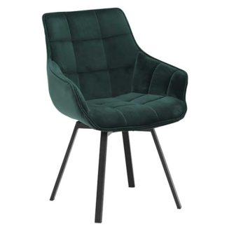 An Image of Jasper Dining Chair Green