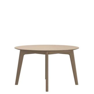 An Image of Stressless Bordeaux Round Dining Table Quickship