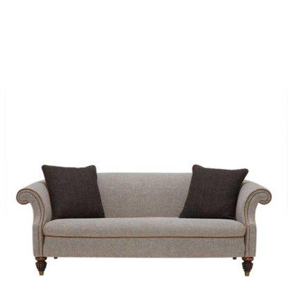 An Image of Harris Tweed Bowmore Grand Sofa