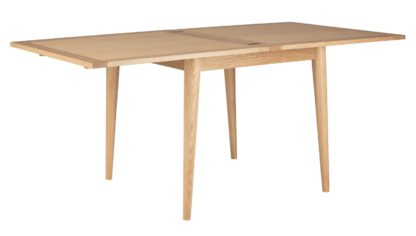 An Image of Habitat Lincoln Oak Flip Top 4-8 Seat Dining Table