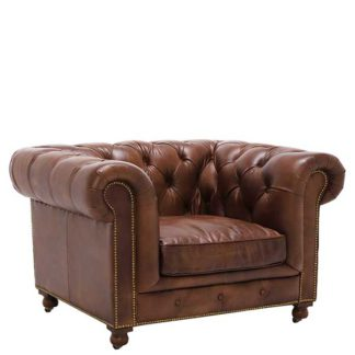 An Image of Asquith Leather Chair