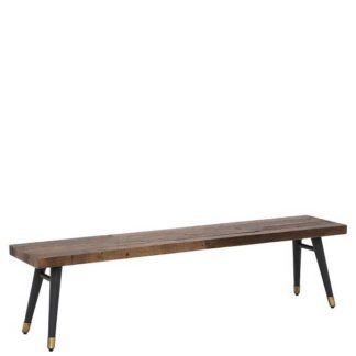 An Image of Modi Reclaimed Wood Bench