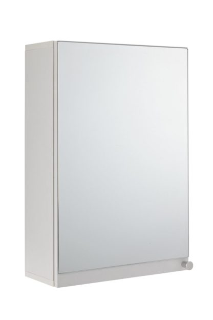 An Image of Argos Home Prime Single Mirrored Wall Cabinet