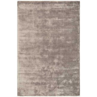 An Image of Katherine Carnaby Chrome Hand Woven Rug Taupe