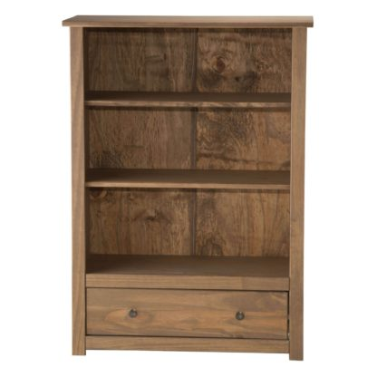 An Image of Santiago Pine Bookcase Brown