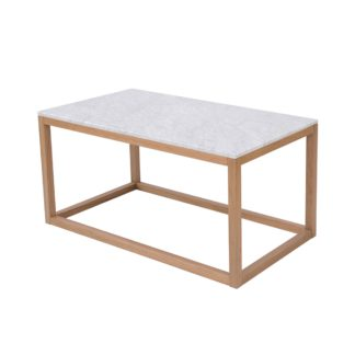 An Image of Harlow Coffee Table White