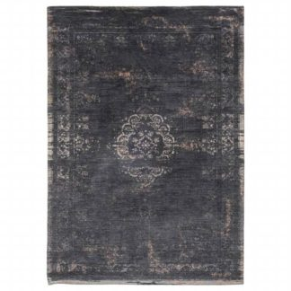 An Image of Fading World Mineral Black Rug
