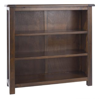 An Image of Boston Low Bookcase Brown