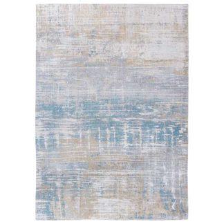 An Image of Atlantic Streaks Rug Long Island Blue