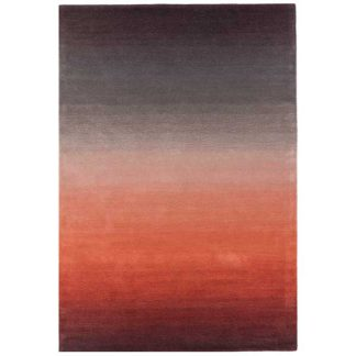 An Image of Ombre Rug Rust
